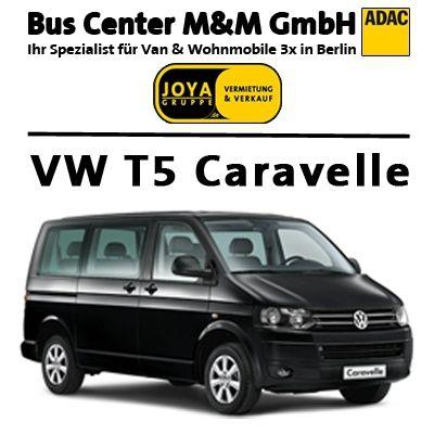 Auto mieten & vermieten - Kleinbus-9sitzer* VW T5 Caravelle Classic* in Berlin