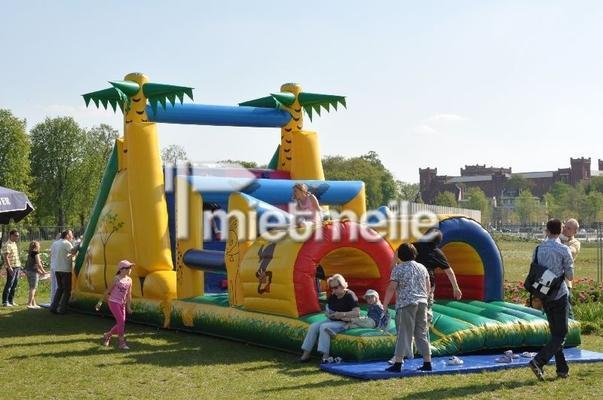 Parcours mieten & vermieten - Jungleparcours - Hindernisparcours mieten in Schwerin
