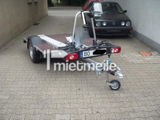 Motorradanhänger mieten & vermieten - Motorradanhänger für bis zu zwei Maschinen u.Fahrä in Bochum