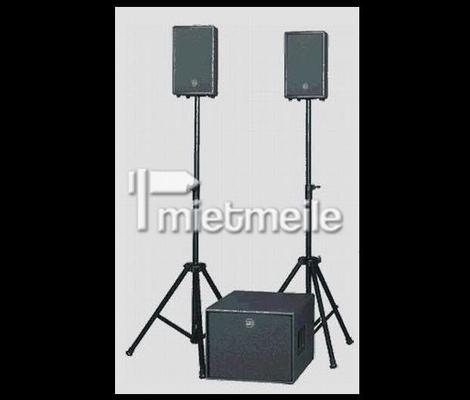 Musikanlage mieten & vermieten - PA / Musikanlage komplett für Hochzeit / Party im Großraum Stuttgart zu vermieten in Leinfelden-Echterdingen
