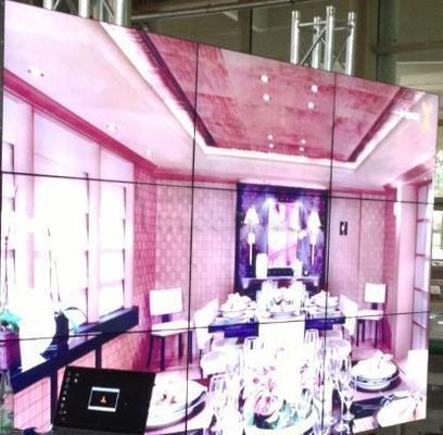 Spezialeffekte mieten & vermieten - Steglos Videowand mieten 55 Zoll Samsung steglos  in Dresden