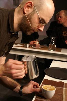 Catering mieten & vermieten - Barista Champion 2008 Latte Art / Events/ Messe/Kongress in Berlin