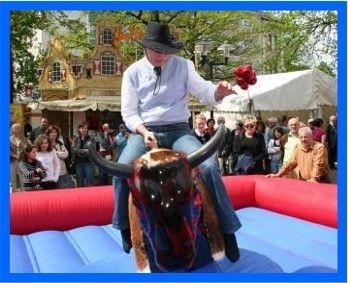 Bullriding mieten & vermieten - Rodeo Bullriding >Ob Dose, Auspuff oder Bulle, ganz nach Ihrem Mietwunsch!  in Dinslaken