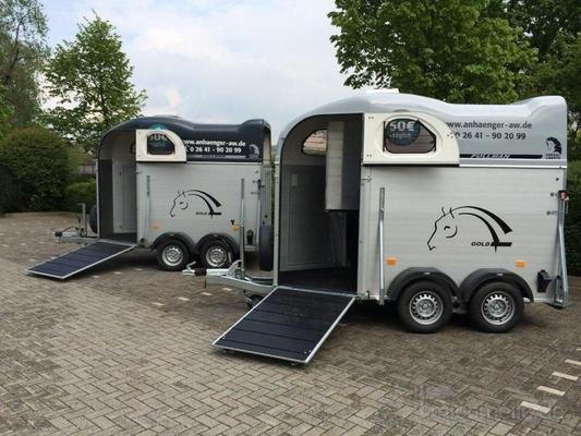 Pferdeanhänger mieten & vermieten - Pferdeanhänger mit Frontausstieg Cheval + 100km/h in Bad Neuenahr-Ahrweiler
