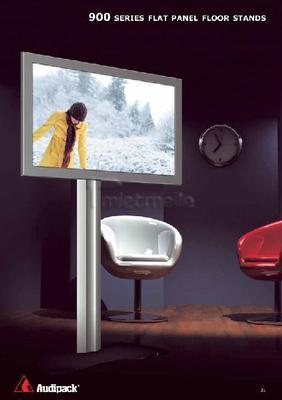 Displayverleih mieten & vermieten - Audipack Tube 900 Designstand Monitor Standfuß  in Dresden