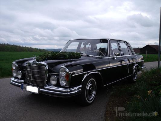 Hochzeitsauto mieten & vermieten - Hochzeitsfahrt Oldtimer Mercedes Augsburg+Umgebung in Heretsried