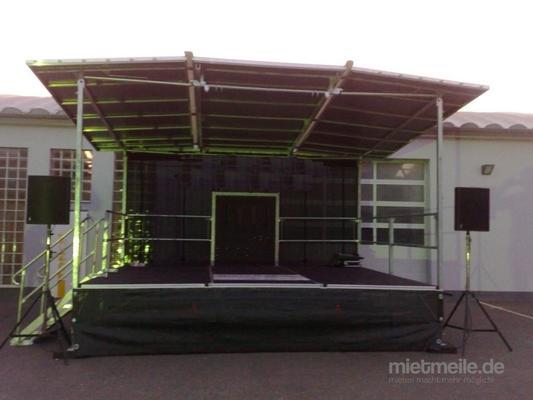 Bühne mieten & vermieten - Mobile Bühne FreeSTAGE Multi - 5 x 4m in Waldshut-Tiengen