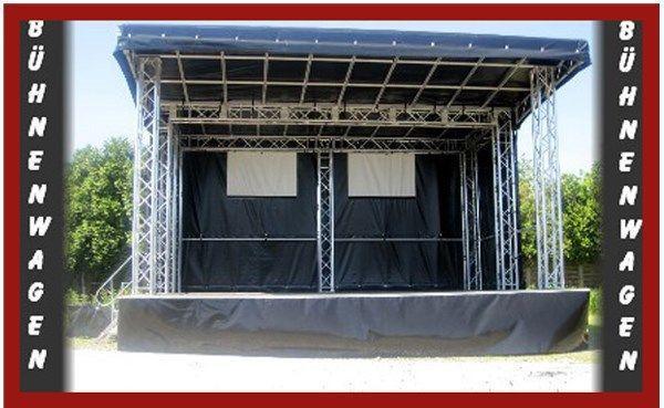Bühne mieten & vermieten - Bühnenwagen mieten: inkl. 20 Km, Auf-u.Abbau... in Dinslaken