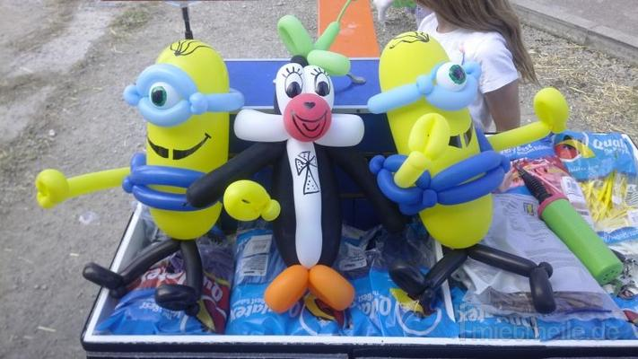 Basteln & Malen mieten & vermieten - Kindershow + Luftballon Figuren der Extraklasse, Kinderdisco, Zauberer, Clown, Ballonkünstler, Luftballons, Ballonclown, Luftballon Figuren, Party, Hüpfburg, Torwand, PA in Herbertingen