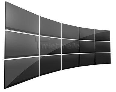 Spezialeffekte mieten & vermieten - Stegloswände aus Steglos Display NEC X462UN mieten in Dresden