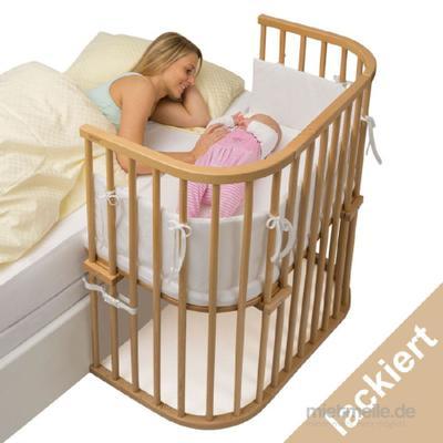 Kindermöbel mieten & vermieten - Tobi Babybay Beistellbett inkl. Matratze/Nestchen in Freudental
