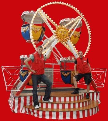 Großspielgeräte mieten & vermieten - Riesenrad, Schiffschaukel verleih, vermietung in Göppingen