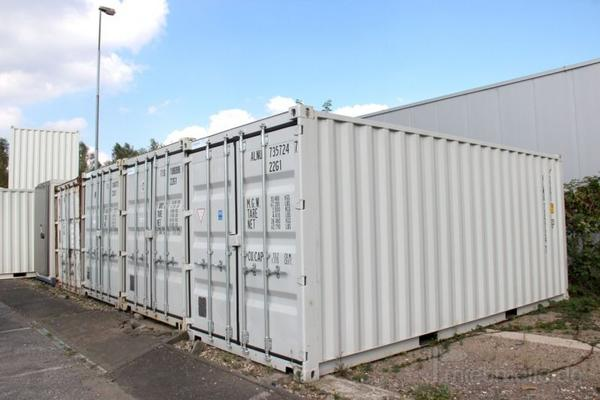 Material- & Lagercontainer mieten & vermieten - 20' Lagercontainer in Düsseldorf