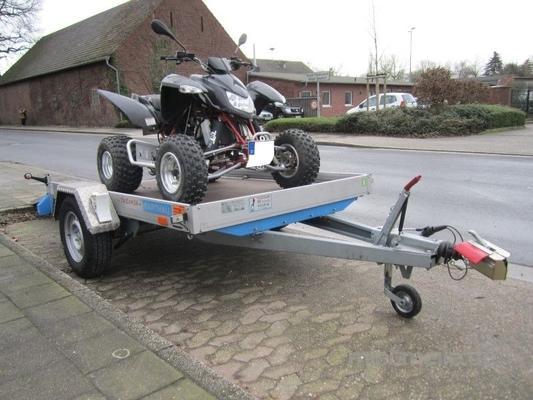 Motorradanhänger mieten & vermieten - Motorradanhänger gebremst 100 KmH in Tönisvorst