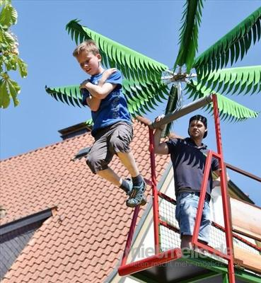 Kletterwand mieten & vermieten - neue Kinderattraktion, Rodelbahn, mobil, mieten in Ense
