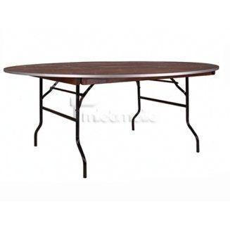 Tische mieten & vermieten - Banketttisch Tisch rund Durchmesser 150 cm in Wuppertal