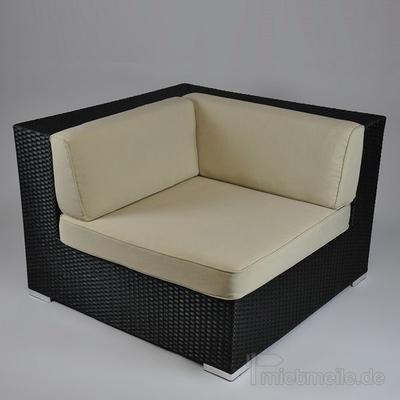 Couchgarnitur mieten & vermieten - Rattan-Lounge - Ecksofa in Hochheim am Main