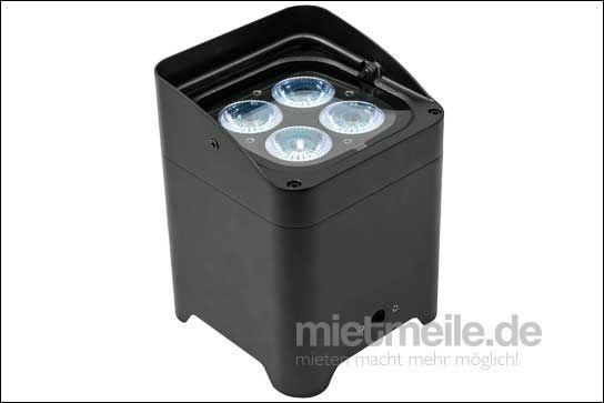 Leuchten & Lampen mieten & vermieten - Akku LED Floorspot - max. 12h Laufzeit, klein-kompakt-hell! in Bodenheim