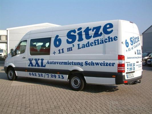Transporter mieten & vermieten - 6 Sitzer mit Ladefläche in Speyer