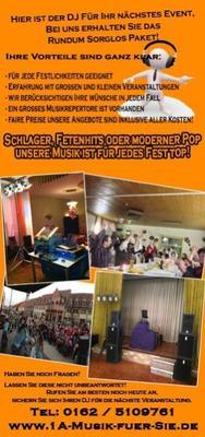 DJ mieten & vermieten - Mobiler DJ mit Tanzmusik für Feiern aller Art in Herzberg (Elster)