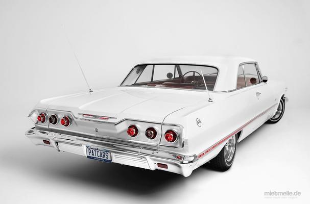 Hochzeitsauto mieten & vermieten - Chevrolet Impala von 1963  Traumhafter US-Oldtimer für Ihre Hochzeit in Mönchengladbach