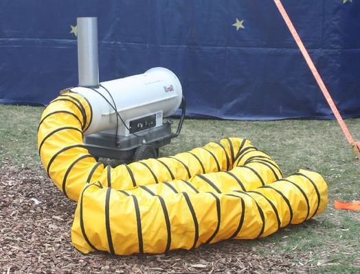 Weitere Zelte mieten & vermieten - Zeltheizung mit 52 KW in Eibelstadt