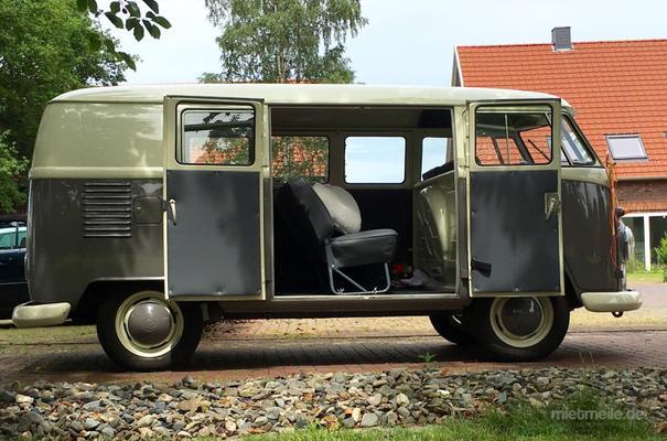 Hochzeitsauto mieten & vermieten - Oldtimer VW Bulli T2 T1 bus hochzeitsautomieten  in Bad Bentheim