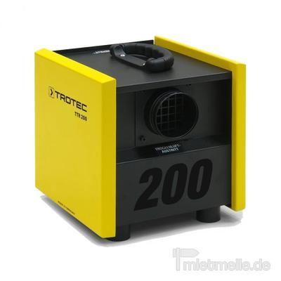 Luftentfeuchter mieten & vermieten - Adsorptionstrockner Trotec TTR 200 in Heinsberg