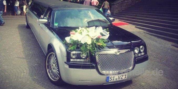 Limousinen mieten & vermieten - Chrysler 300 C Stretchlimousine in Hilchenbach