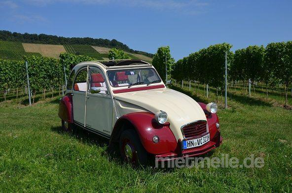 Oldtimer mieten & vermieten - Citroen 2cv die Ente selbst fahren  in Brackenheim