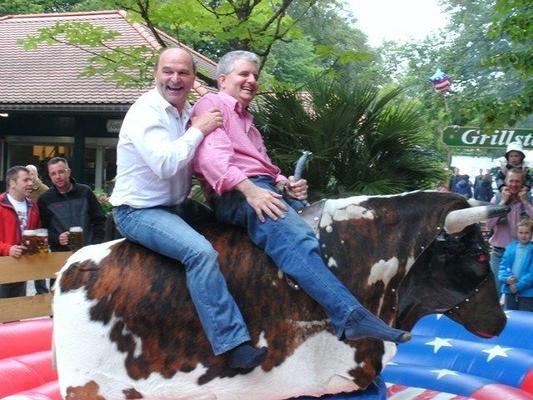 Bullriding mieten & vermieten - Bull Riding / Bullriding / Rodeo / Bullen reiten  in Neufahrn in Niederbayern