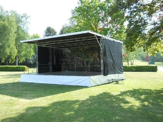 Bühne mieten & vermieten - Stage Event Bühnen Verleih mobile Bühne Open Air A in Höchst im Odenwald