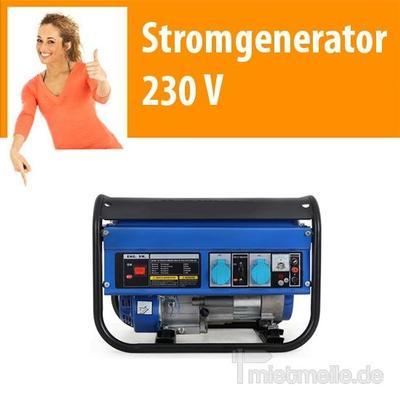 Stromgenerator mieten & vermieten - Stromerzeuger, Stromaggregat, Stromgenerator Be in Dresden