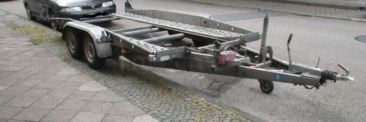 Autoanhänger mieten & vermieten - Autotransporter 2500 kg in Bochum