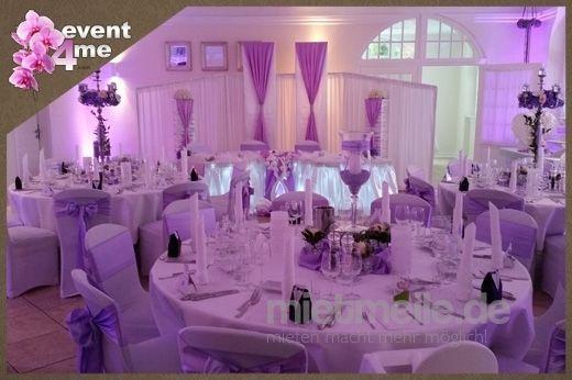 Hochzeitsdekoration mieten & vermieten - Wir dekorieren Hochzeiten ganz nach Ihren Wünschen in Mannheim
