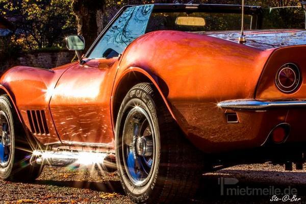 Oldtimer mieten & vermieten -  Corvette C3 Chevrolet 1968 Stingray Cabrio Oldtimer Mieten in Altensteig