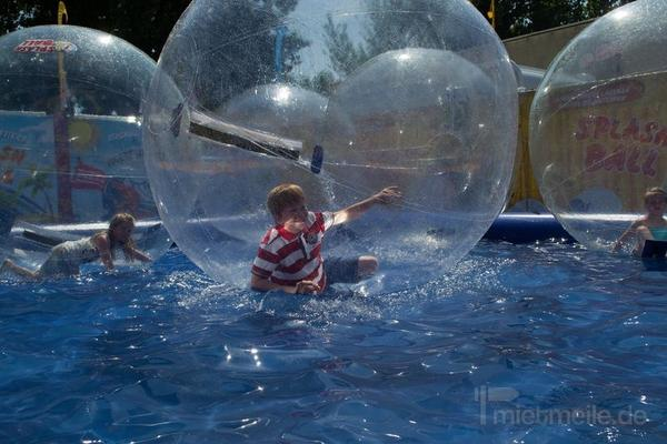Zorbing mieten & vermieten - Aqua Balls / Aqua Zorbing / Wasserball Arena in Lauenau