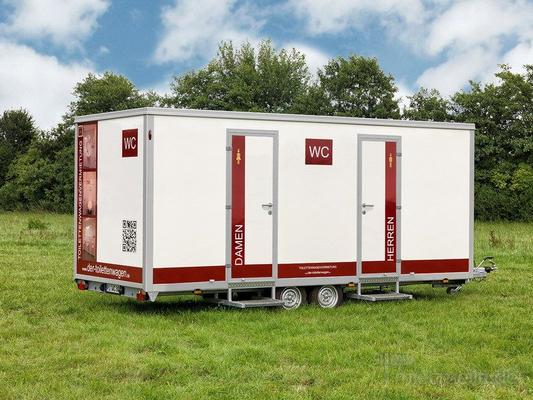 Toilettenwagen mieten & vermieten - Toilettenwagen / Miettoilette / WC Anhänger in Kummerfeld