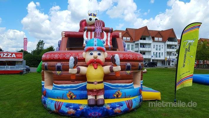 Hüpfburg mieten & vermieten - Wikingerschiff in Bramsche