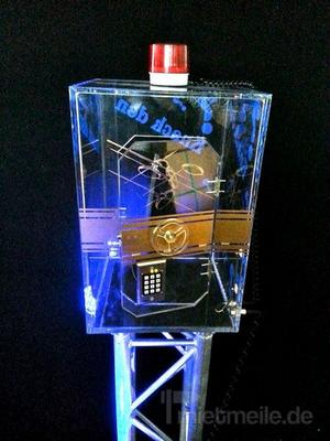 Gewinnspiele mieten & vermieten - Gläserner Tresor in Bramsche