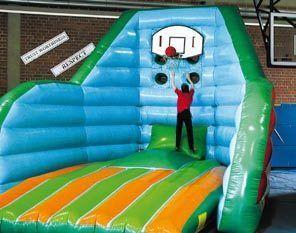 Großspielgeräte mieten & vermieten - Basketball Jump, Basketnall, Kinderfest, Party in Würzburg