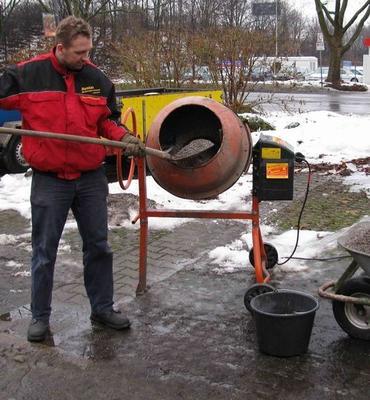 Mischmaschinen mieten & vermieten - Betonmischer ca. 123 bis 133 l in Dortmund