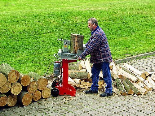 Holzspalter mieten & vermieten - Holzspalter 6 t Spaltkraft 230 V, stehend in Bochum