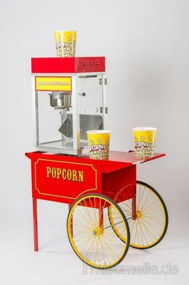 Popcornmaschine mieten & vermieten - Große Nostalgie Popcornmaschine zu Vermieten  in Appenweier