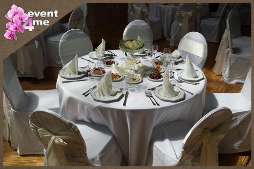 Tischdecken mieten & vermieten - Tischdecken rund Ø 300 cm Versand deutschlandweit in Mannheim