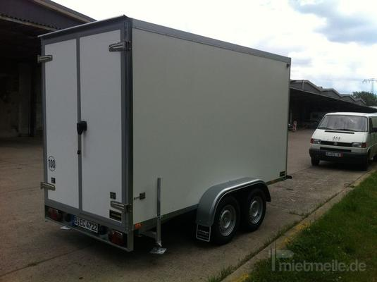 Kühlanhänger mieten & vermieten - Kühlanhänger 60 eur 2700kg Kühlwagen in Berlin