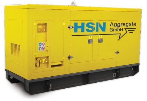 Stromversorgung mieten & vermieten - Stromaggregat 200 kvA in Neuenhaus