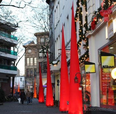 Leuchten & Lampen mieten & vermieten -  Aircone Leuchtkegel 6 m, Aircones, Lichtkegel, Lichtobjekt in Krefeld