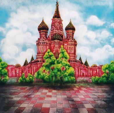Kulissen mieten & vermieten - Moskau Kulisse, Moskau, Russland, Kulisse, Dekoration, russisch, Kirche, Kathedrale, Event, Messe, Veranstaltung in Kamp-Bornhofen