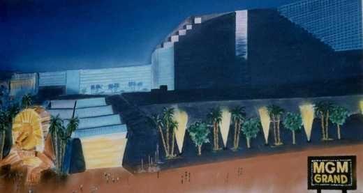 Kulissen mieten & vermieten - Hotel MGM Grand Kulisse, Kulisse, USA, Hotel MGM Grand, Amerika, Las Vegas, Dekoration, Casino, Event, Messe in Kamp-Bornhofen